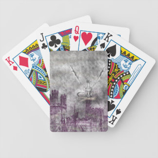 strange land bicycle playing cards