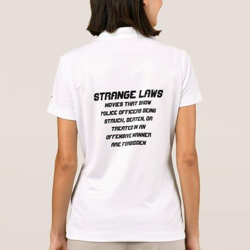 Strange laws polos
