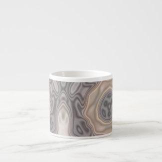 Strange modern pattern espresso mug