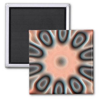 Strange pattern magnet