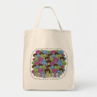 Strange People Grocery Bag