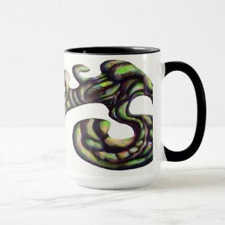 Strange Shape Mug - Green
