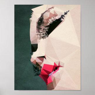 Strange Thoughts- Kubistika by Boris Draschoff Poster