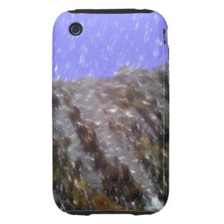 Strange unique art tough iPhone 3 cases