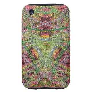 Strange unique pattern iPhone 3 tough cover
