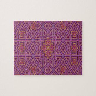 Strange unique pattern puzzle