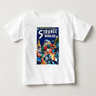 Strange Worlds -- Angry Robots Baby T-Shirt