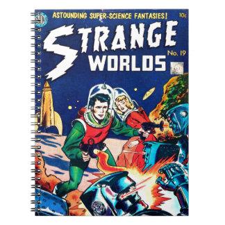 Strange Worlds -- Angry Robots Notebooks