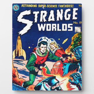 Strange Worlds -- Angry Robots Plaque