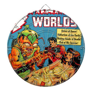 Strange Worlds -- Space Princess Dartboard