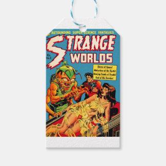 Strange Worlds -- Space Princess Gift Tags