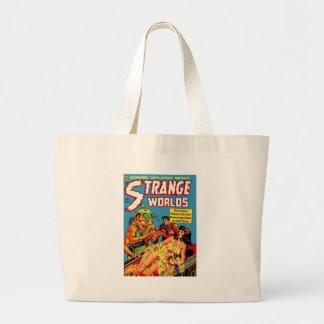 Strange Worlds -- Space Princess Large Tote Bag