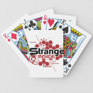 STRANGECRAFT SHIRT BICYCLE PLAYING CARDS