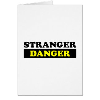 Stranger Danger Card