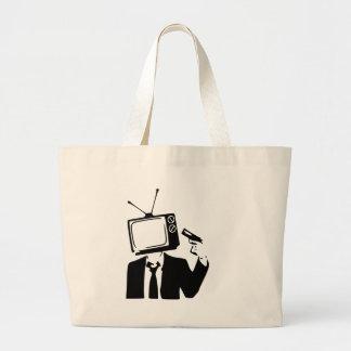 stranger large tote bag