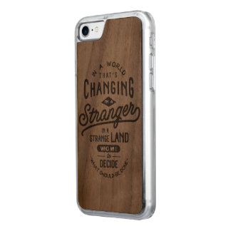 """""""Stranger"""" Saying Iphone 7 Case"""