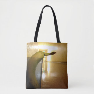 Strangers in the Hallway Tote Bag