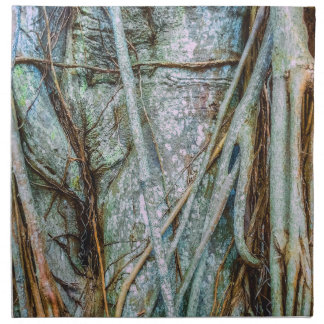 Strangler Fig Abstract Napkin