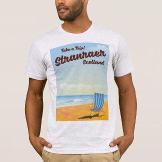 Stranraer Scotland vintage travel poster T-Shirt