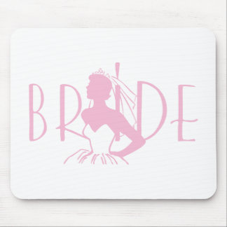 Strapless Bride Mouse Pad