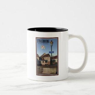 Strasbourg - Pont St Martin Two-Tone Coffee Mug