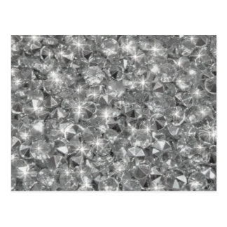 Strass crystals texture image postcard