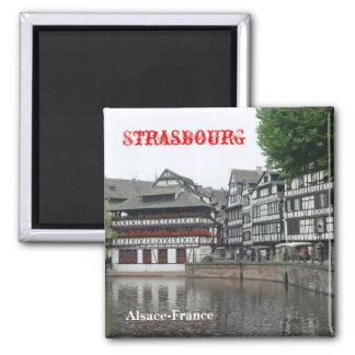 Strassbourg Square Magnet