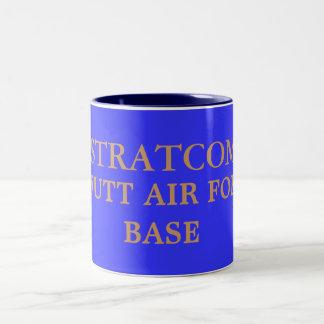 STRATCOM, OFFUTT AIR FORCE BASE Two-Tone COFFEE MUG