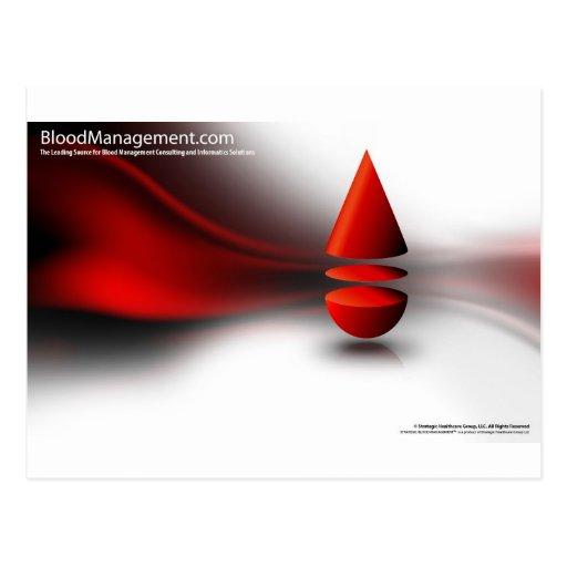 strategic blood management postcards