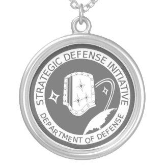 Strategic Defense Initiative Organization Necklace