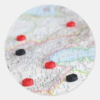 Strategy Round Sticker