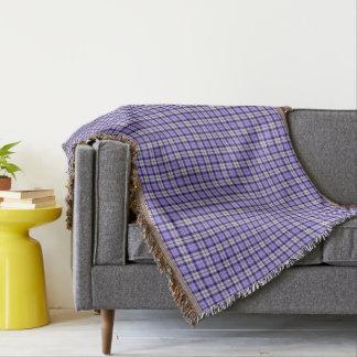Strathclyde Scotland District Tartan Throw Blanket