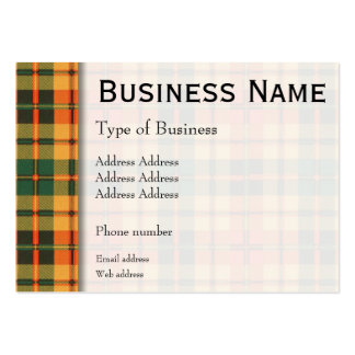 Strathearn clan Plaid Scottish tartan Pack Of Chubby Business Cards