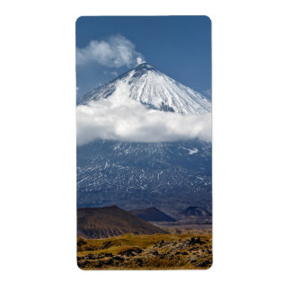 Stratovolcano on Kamchatka Peninsula. Eurasia