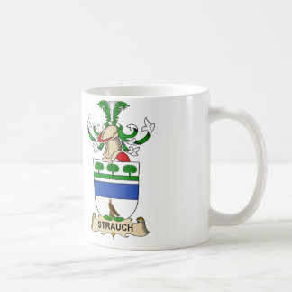 Strauch Family Crest Coffee Mug
