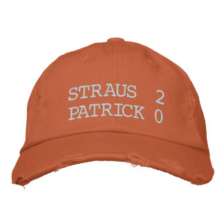 Straus 2 Patrick 0 Embroidered Hat