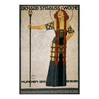Strauss Salome Opera Poster