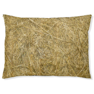 Straw Bale Pet Bed