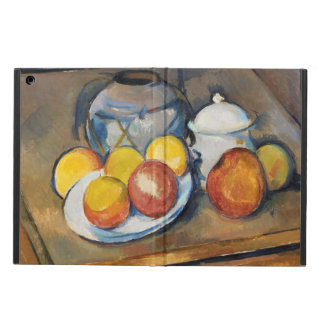 STRAW-COVERED VASE, SUGAR BOWL AND APPLES, CASE FOR iPad AIR
