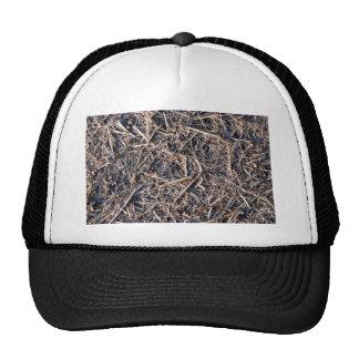 Straw Hay Farm Texture Mesh Hats