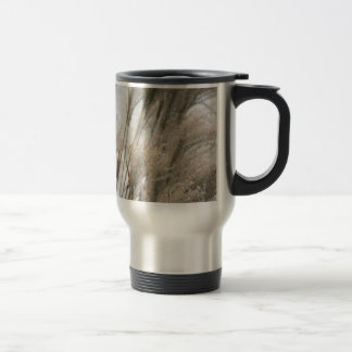 Straw in winter travel mug