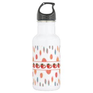 Strawberries 532 Ml Water Bottle