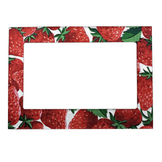 Strawberries and Cream Magnetic Frame