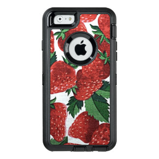 Strawberries and Cream OtterBox iPhone 6/6s Case