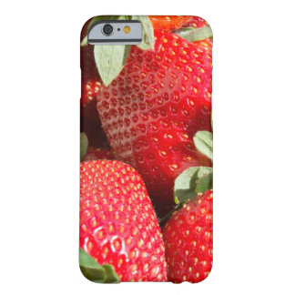 Strawberries Barely There iPhone 6 Case