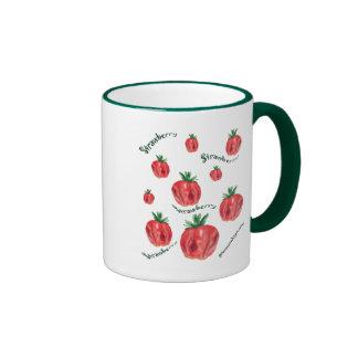 Strawberries Coffee Mugs
