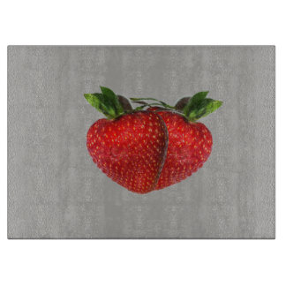 Strawberries Cutting Board
