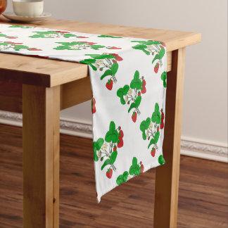 Strawberries for Breakfast Short Table Runner
