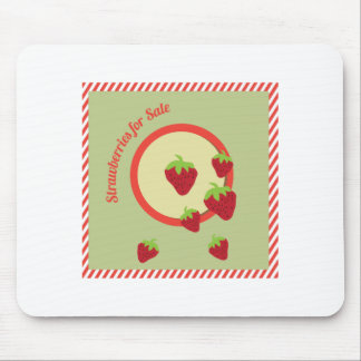 Strawberries For Sale Mouse Pads