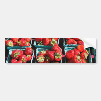 Strawberries in Sunlight Bumper Sticker